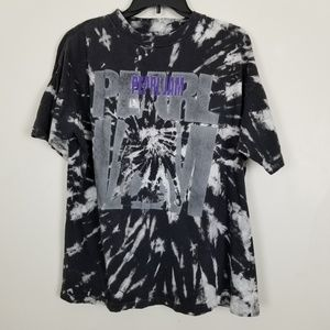 Pearl Jam Graphic Tee Band T-shirt Tie Dye